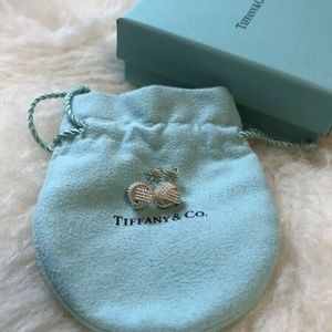 Tiffany and co Twist knot earrings